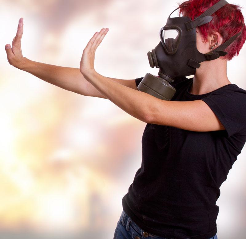 redukcja zapachów