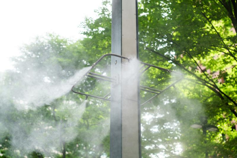 Czy chłodzenie mgłą wodną jest skuteczne?