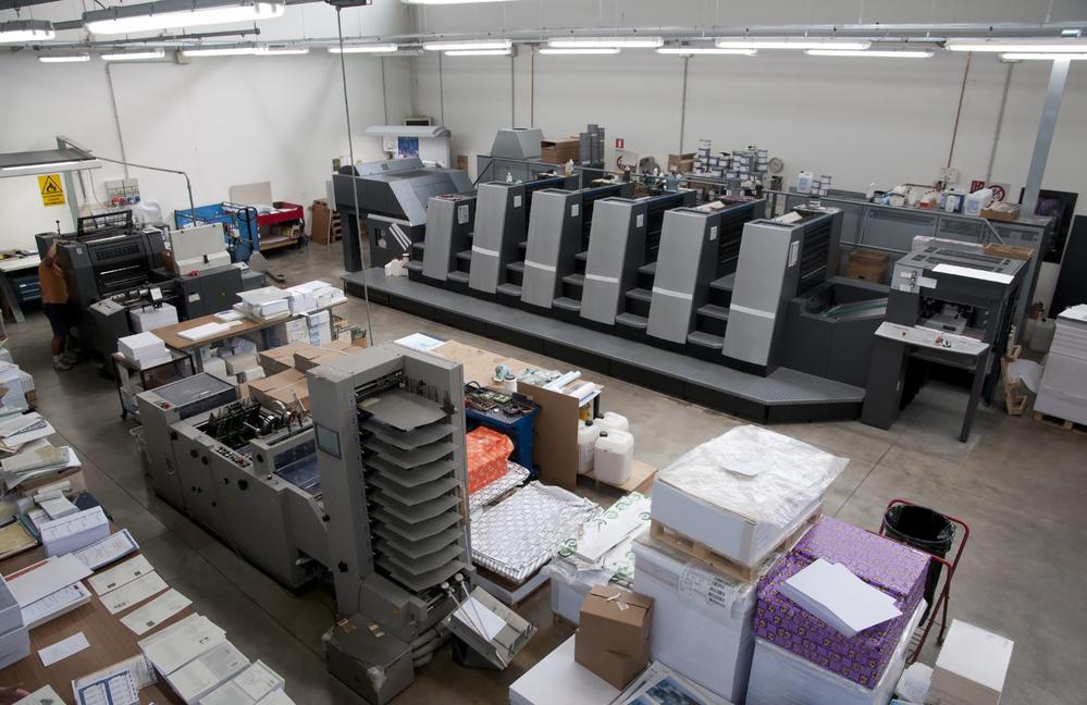 Nawilżanie powietrza w drukarni